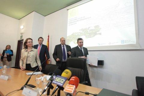 Inauguración - Ourense - Novas Xornadas sobre A Reforma da Lei de Ordenación Urbanística de Galicia